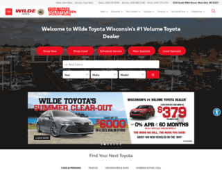 wildetoyota.com screenshot