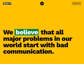 wildfi.com.uy screenshot