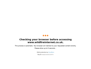 wildfireinternet.co.uk screenshot