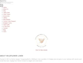 wildflowerline.wpengine.com screenshot