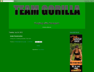 wildgorillaman.blogspot.com screenshot