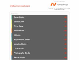 wildharmonystudio.com screenshot