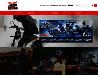 wildhorsepowersports.com screenshot