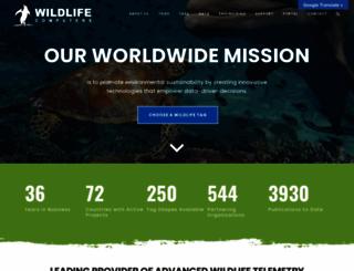 wildlifecomputers.com screenshot