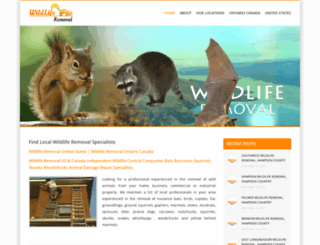 wildliferemoval.co screenshot