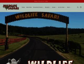 wildlifesafari.net screenshot
