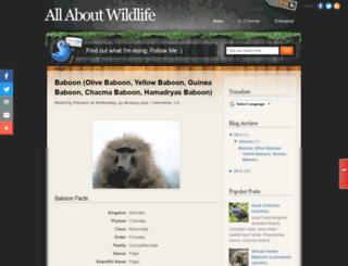wildlifesty.blogspot.in screenshot