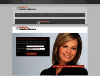 wildlycapablewomen.com screenshot