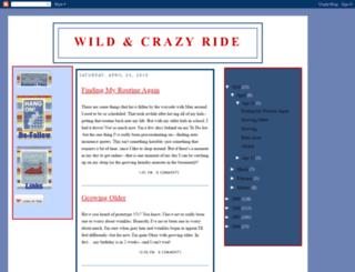 wildncrazyride.blogspot.com screenshot