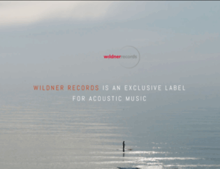 wildner-records.de screenshot