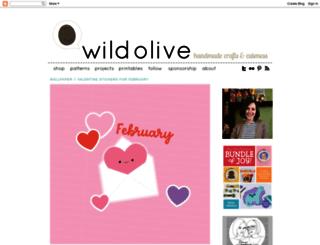wildolive.blogspot.it screenshot
