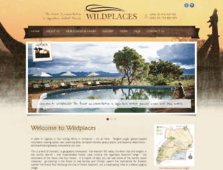 wildplacesafrica.com screenshot