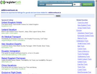 wildrovertours.ie screenshot