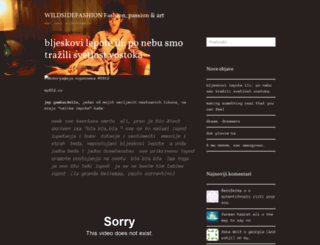 wildsidefashion.wordpress.com screenshot