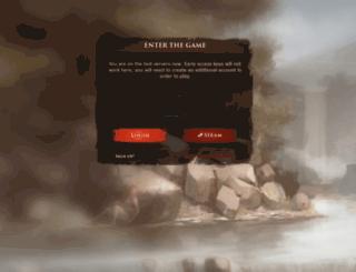 wildterra-authorization-dev.herokuapp.com screenshot