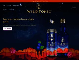 wildtonic.com screenshot