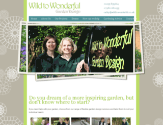 wildtowonderful.co.uk screenshot