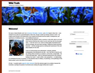 wildtruth.net screenshot