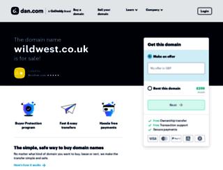 wildwest.co.uk screenshot