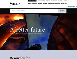 wileyindia.com screenshot