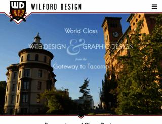 wilforddesign.com screenshot