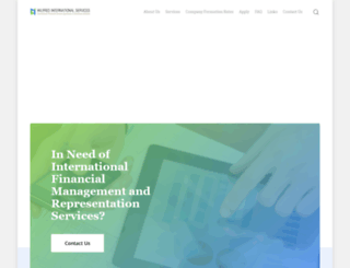 wilfredinternationalservices.com screenshot