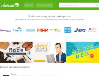 wilfredlebouthiier.aceboard.fr screenshot