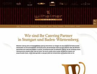 wilhelmer-catering.com screenshot