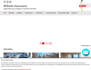 wilhelmhausmann.de screenshot