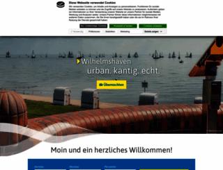 wilhelmshaven-touristik.de screenshot