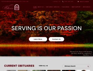 wilkersonfuneral.com screenshot