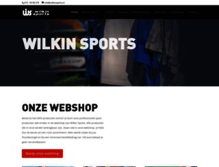 wilkinsports.nl screenshot