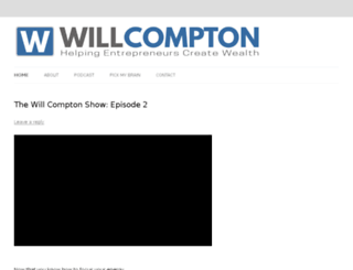 will-compton.com screenshot