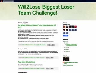 will2lose.blogspot.com screenshot