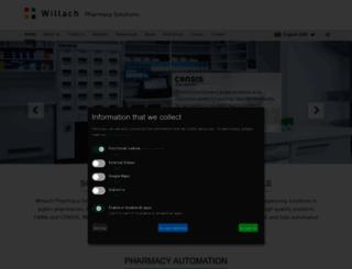 willach-pharmacy-solutions.com screenshot