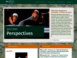 willamette.com screenshot