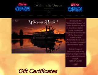 willamettequeen.com screenshot