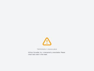 willcoxcorvette.com screenshot