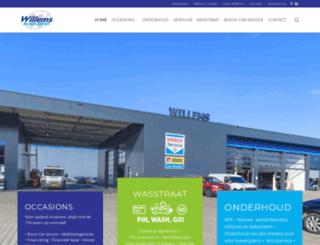 willemsautomobielen.nl screenshot