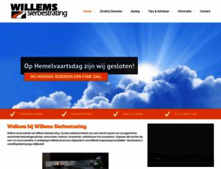 willemssierbestrating.nl screenshot