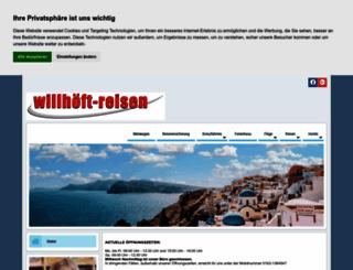 willhoeft-reisen.de screenshot