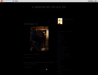 william-a-gravura.blogspot.com screenshot