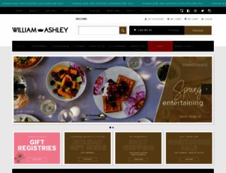 williamashley.com screenshot