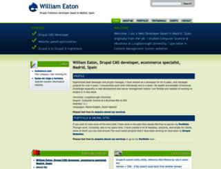 williameaton.co.uk screenshot
