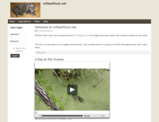 williamfinck.net screenshot