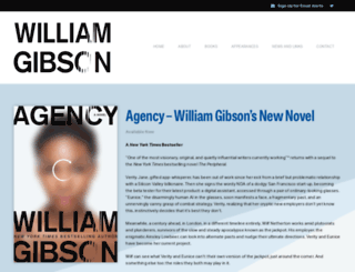 williamgibsonboard.com screenshot