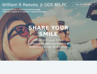 williamreevesdds.com screenshot