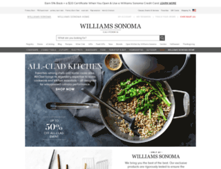 williams-sonoma.com screenshot