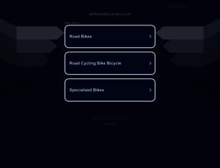 williamsbicycles.com screenshot