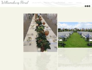 williamsburgfloral.com screenshot